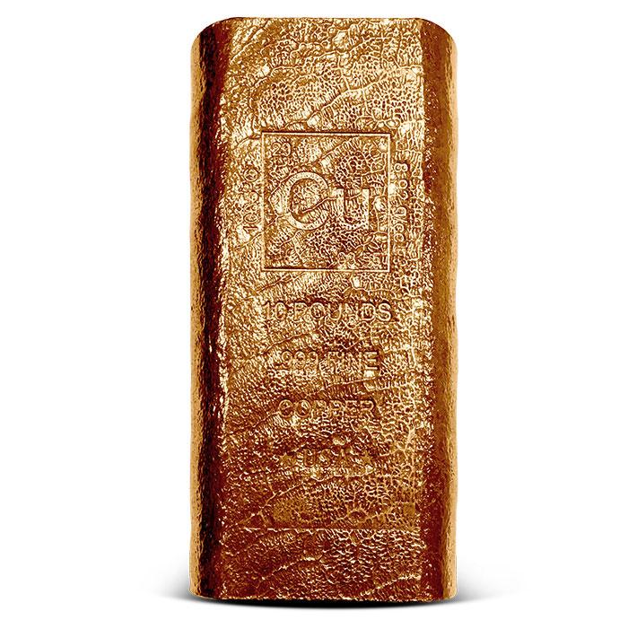 10 pound Copper Bar