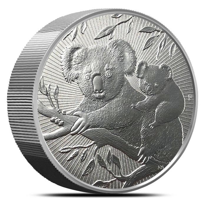 2018 Australia 10 oz Silver Piedfort Koala