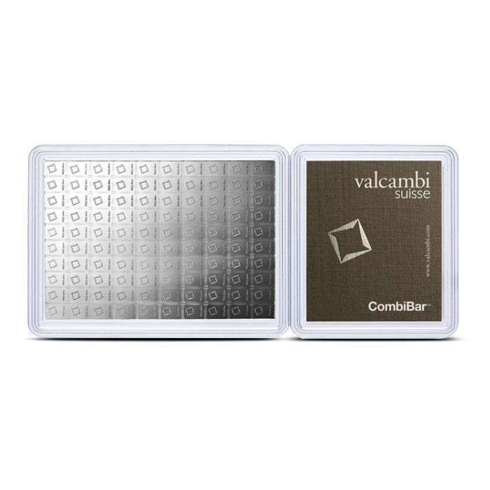100 x 1 gram silver CombiBar