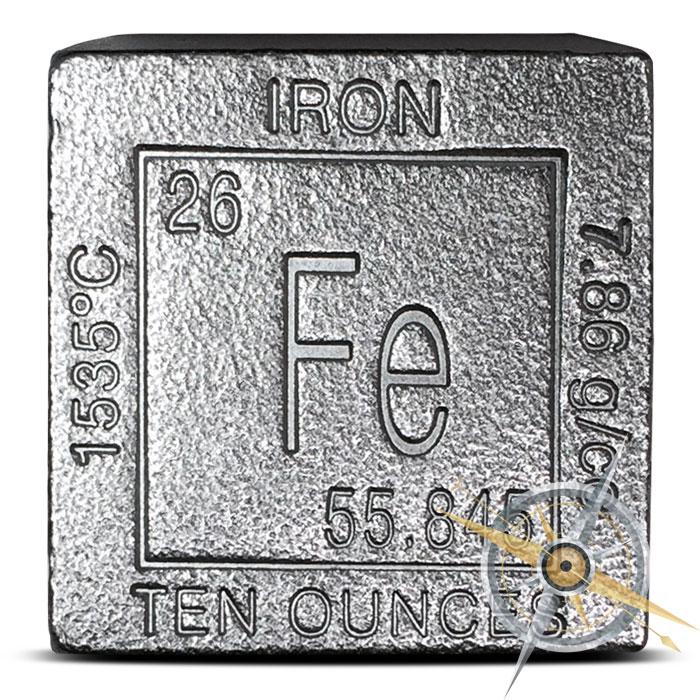 10 oz Iron Cube