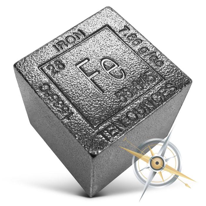 Iron Cube   10 oz
