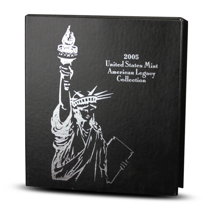 2005 American Legacy Collection | US Mint Box