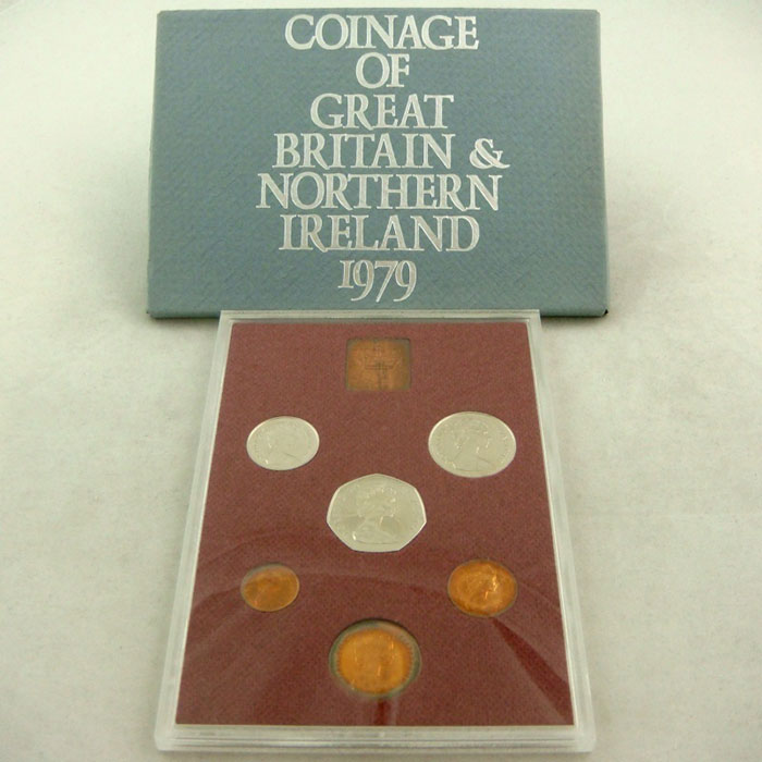 1979 Proof Coinage Set of Great Britain and Northern Ireland