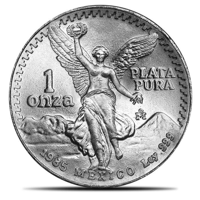 1985 Silver Libertad