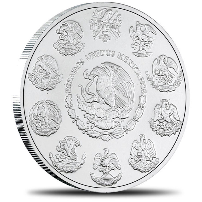 2007 Mexican 1 oz Silver Libertad Reverse