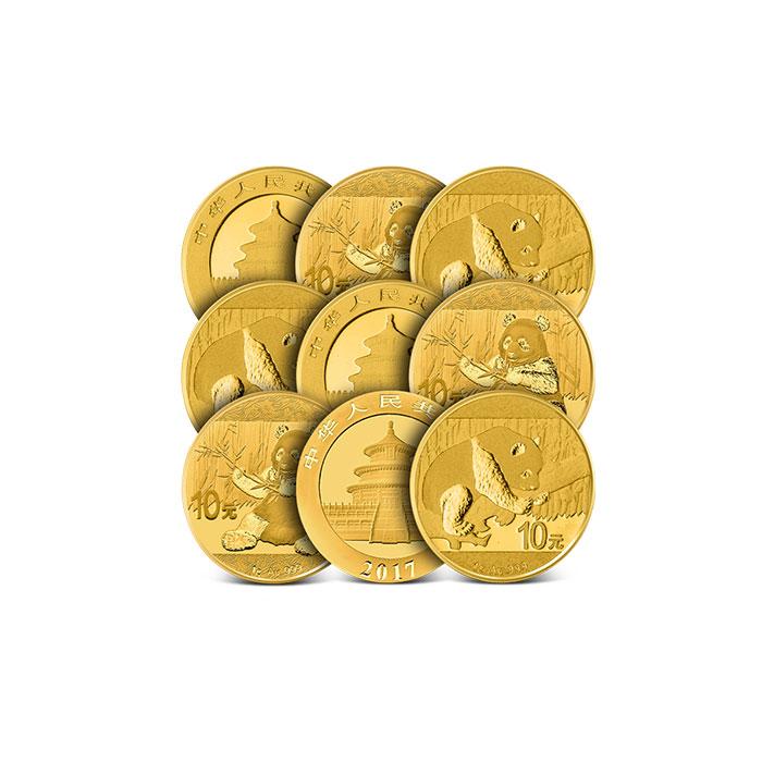 1 gram China Gold Panda