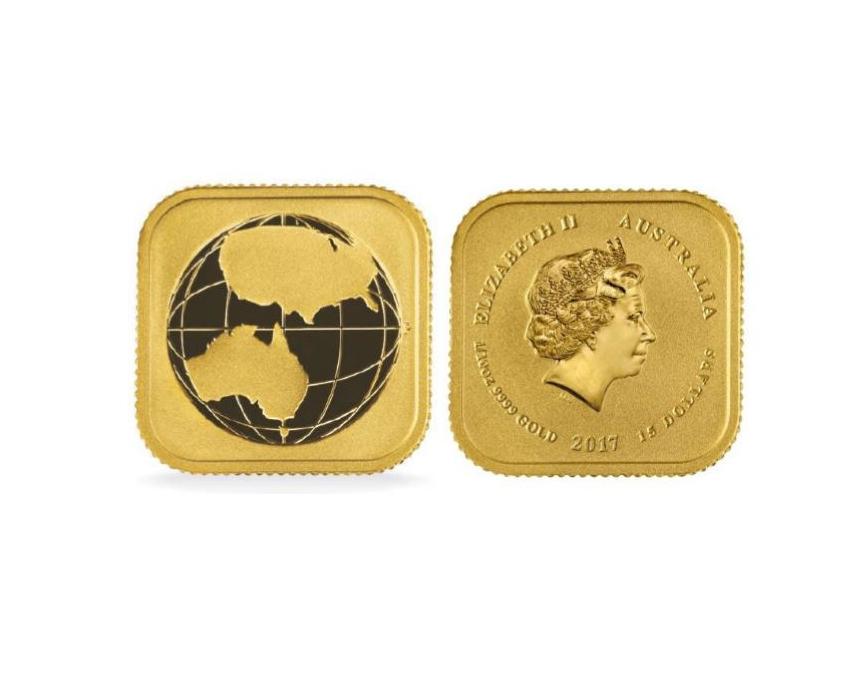 1/10 oz Australian Legal Tender Gold Unit Side by Side