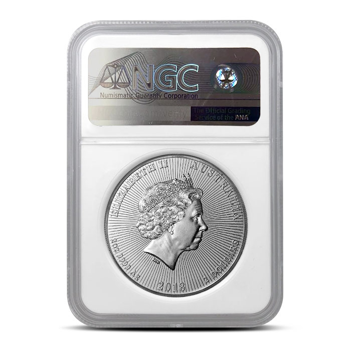 First Day of Issue 2018 2 oz Silver Koala