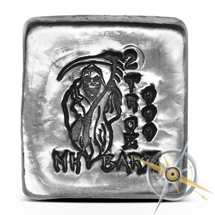 Grim Reaper Silver Bar | MK BarZ