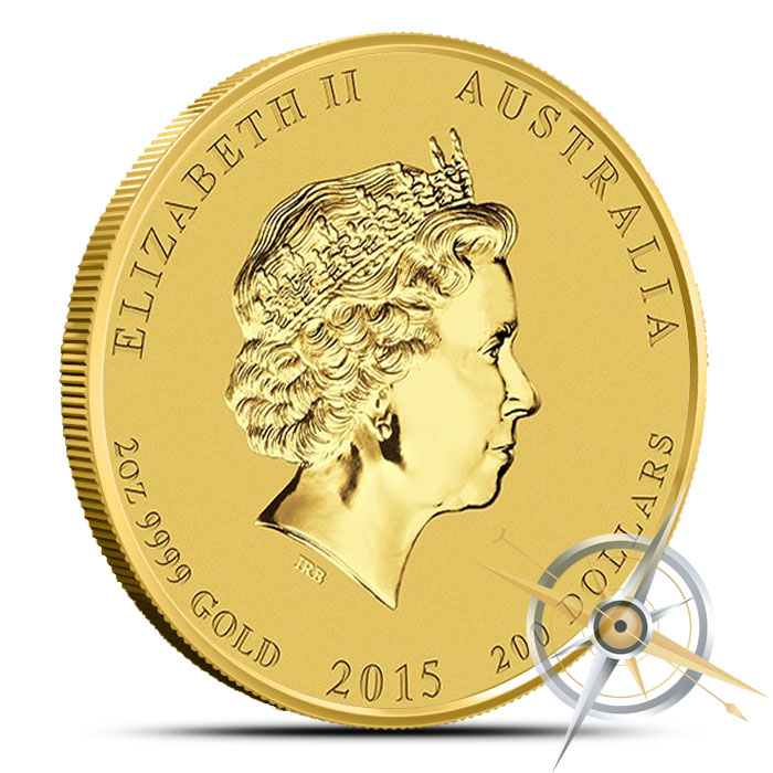 2015 2 oz Gold Year of the Goat | Lunar Series II