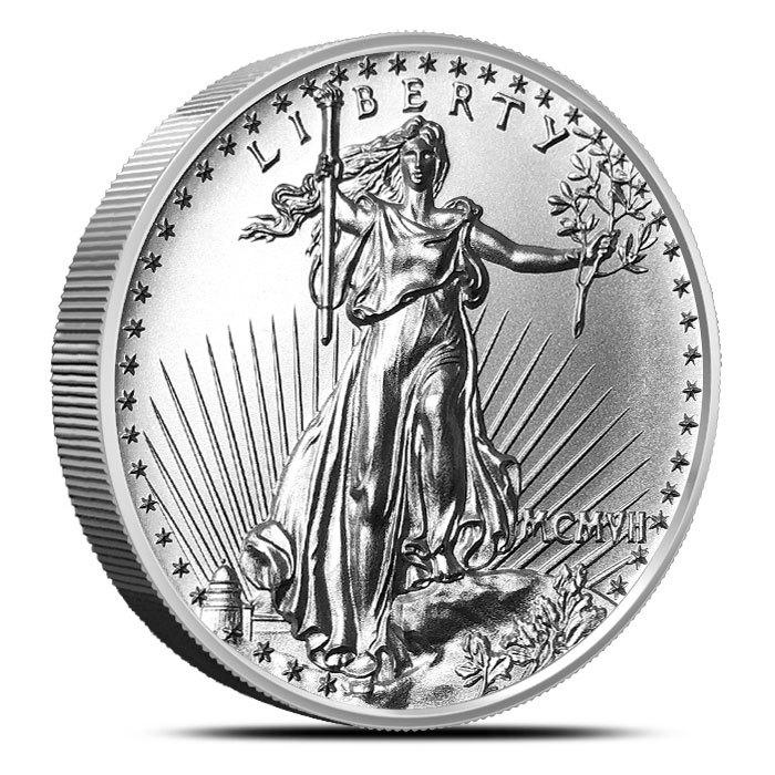 2 oz Silver Round | Saint Gaudens