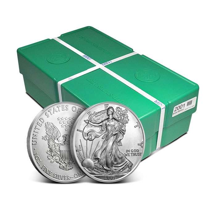 2001 American Silver Eagle Monster Box | Mint Sealed