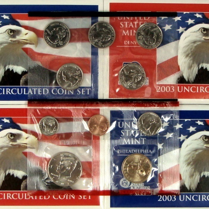 2003 US Mint Set Coins