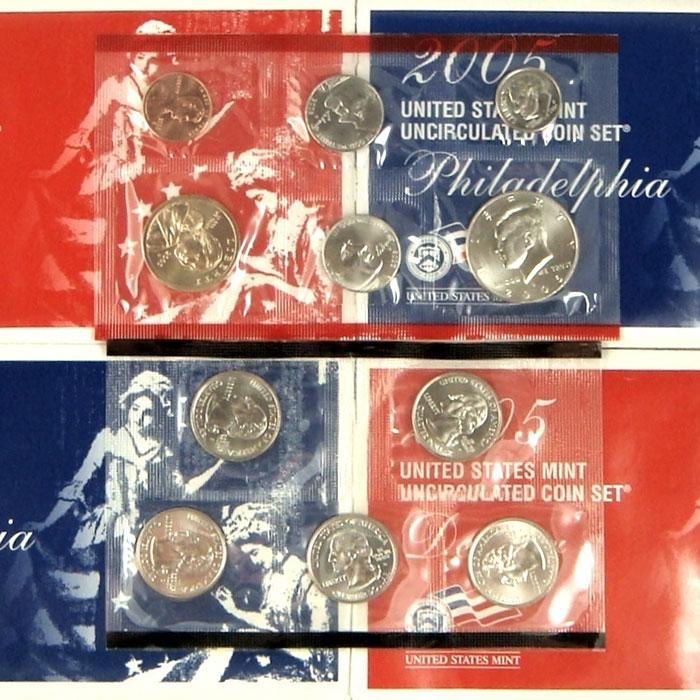 2005 US Mint Set Coins