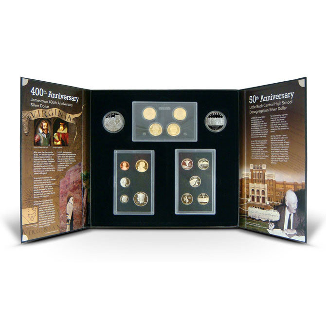 2007 S American Legacy Silver Proof Set