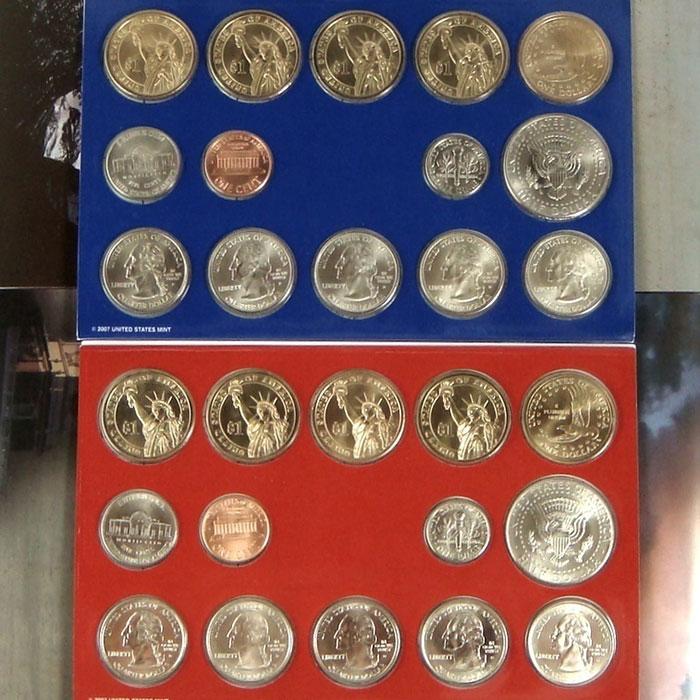 2007 US Mint Set Coins