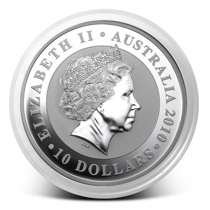 2010 Australia 10 oz Silver Koala