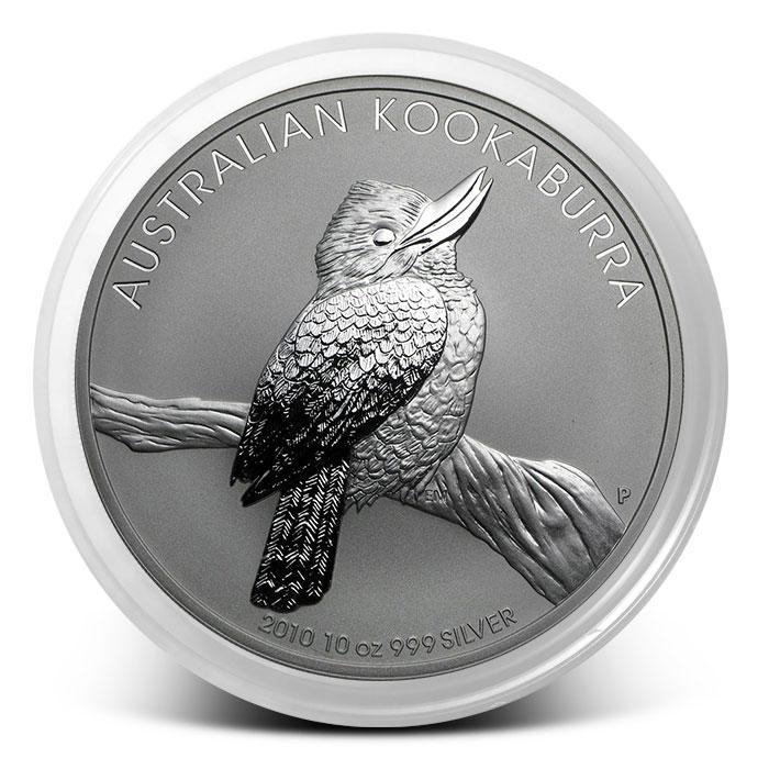 2010 Australian 10 oz Silver Kookaburra