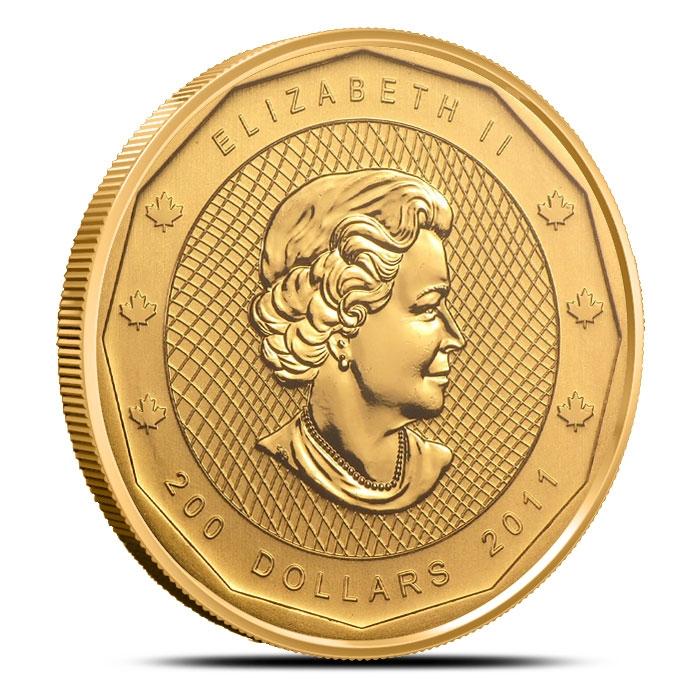 2011 Mountie Gold Coin Queen Effigy