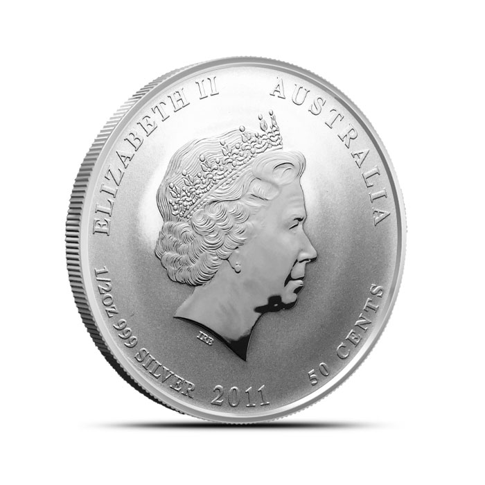 2011 half ounce Silver Australian Year of the Rabbit Coin