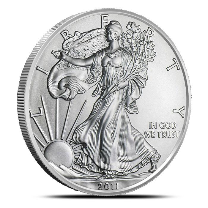 2011 1 oz American Silver Eagle