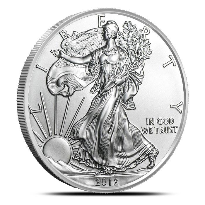 2012 1 oz American Silver Eagle