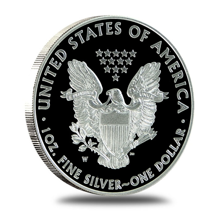 2010 Proof American Silver Eagle | Reverse