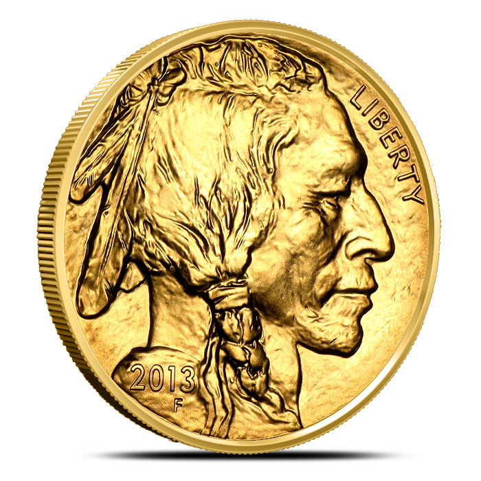 2013 1 oz Gold Buffalo