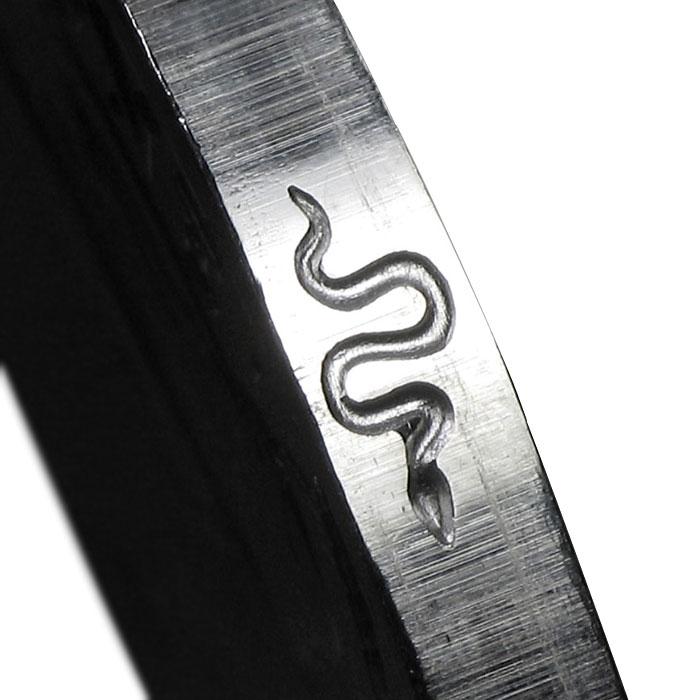 2013 1 oz Silver Britannia Snake Privy | Edge Mark