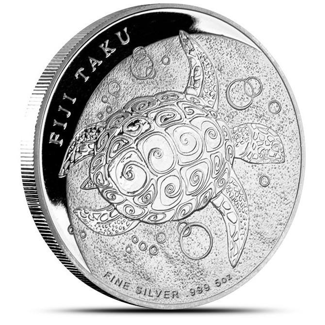 2013 5 oz Silver Fiji Taku | New Zealand Mint