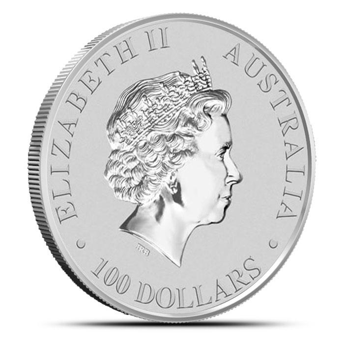 2014 One Ounce Australian Platinum Platypus Reverse