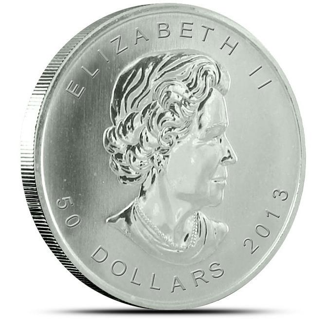 2013 1 oz Canadian Platinum Maple