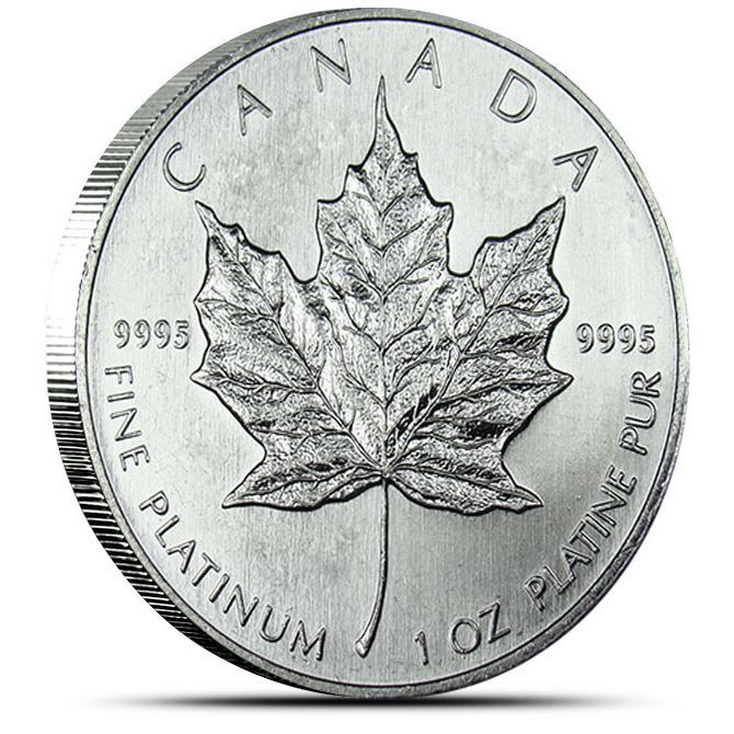 2013 Canadian Platinum Maple Leaf