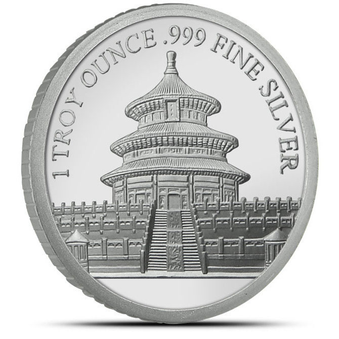 2013 Year of the Snake 1 oz Silver Round Reverse