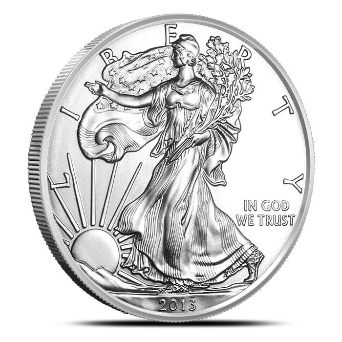 2013 1 oz American Silver Eagle