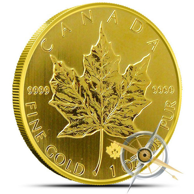 2013 1 oz Canadian Gold Maple