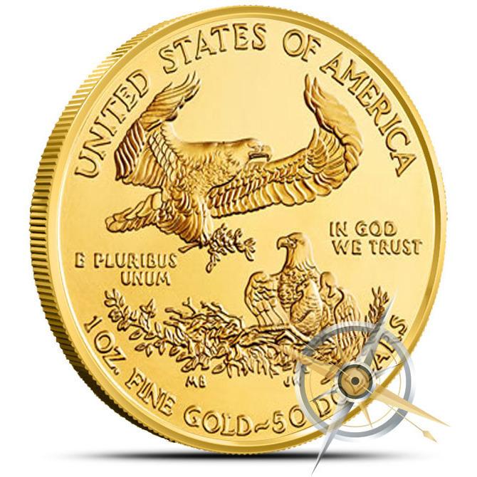 2013 1 oz American Gold Eagle Reverse
