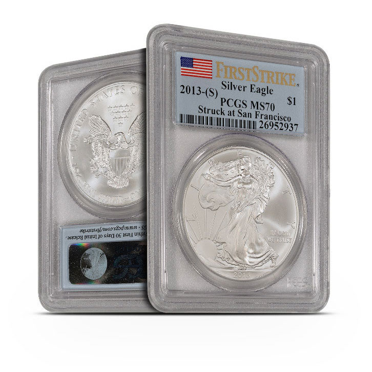 2013 (S) ASE PCGS MS70 First Strike
