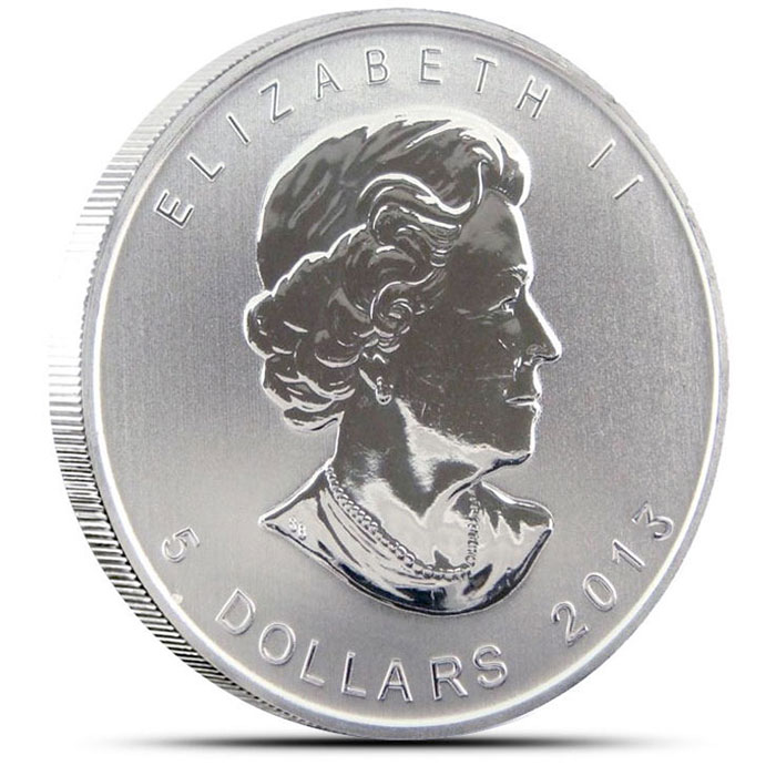 2013 Canadian Silver Maple Obverse