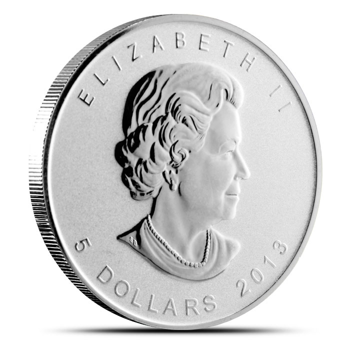 2013 Snake Privy Candian Silver Maple Obverse