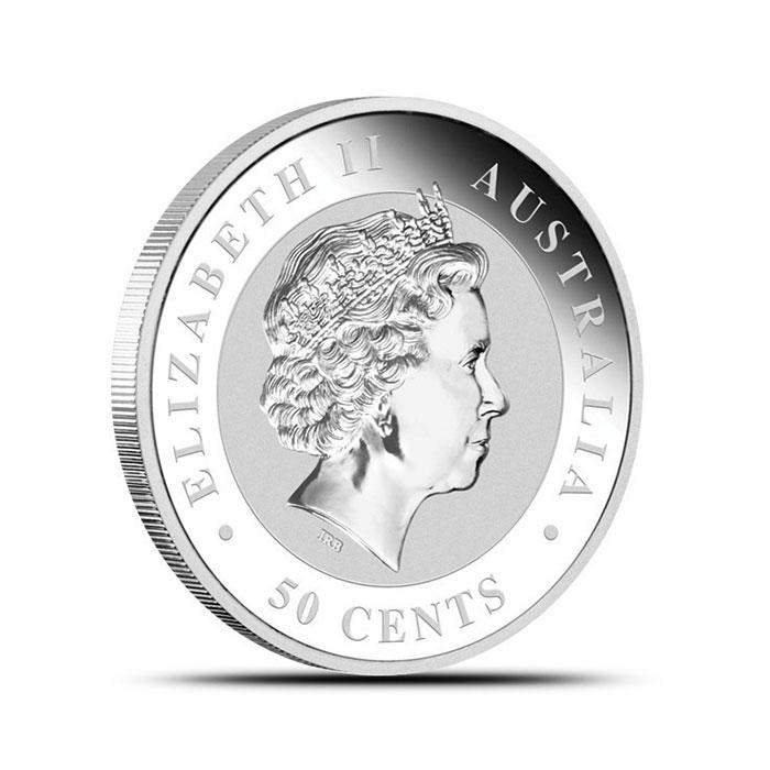 2013 1/2 oz Perth Mint Silver Koala Reverse