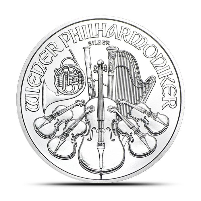 2014 One oz Austrian Silver Philharmonic