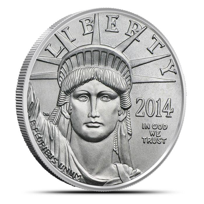 2014 1 oz American Platinum Eagle