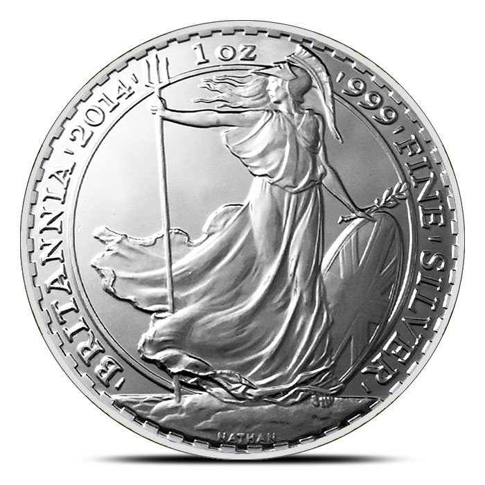 2014 British 1 oz Silver Britannia | Horse Privy