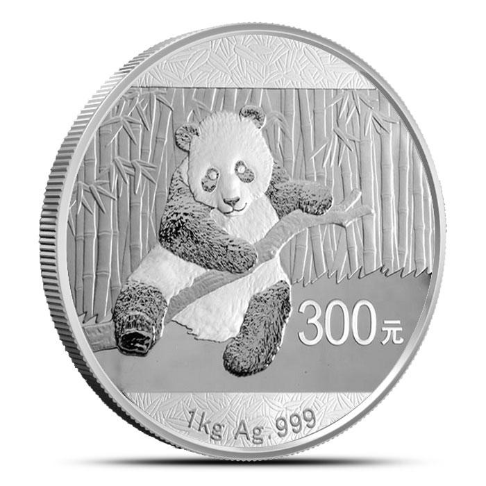 2014 Kilo Chinese Silver Panda Reverse