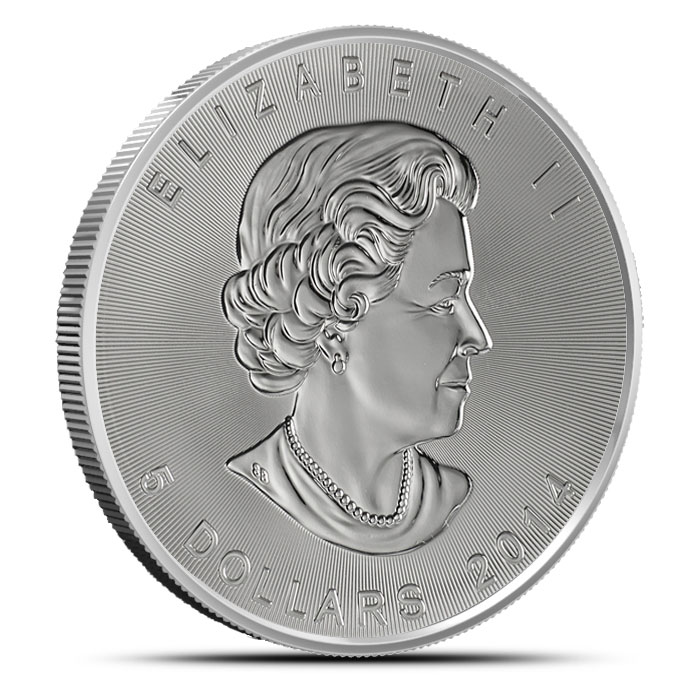 2014 Canadian Silver Maples Obverse