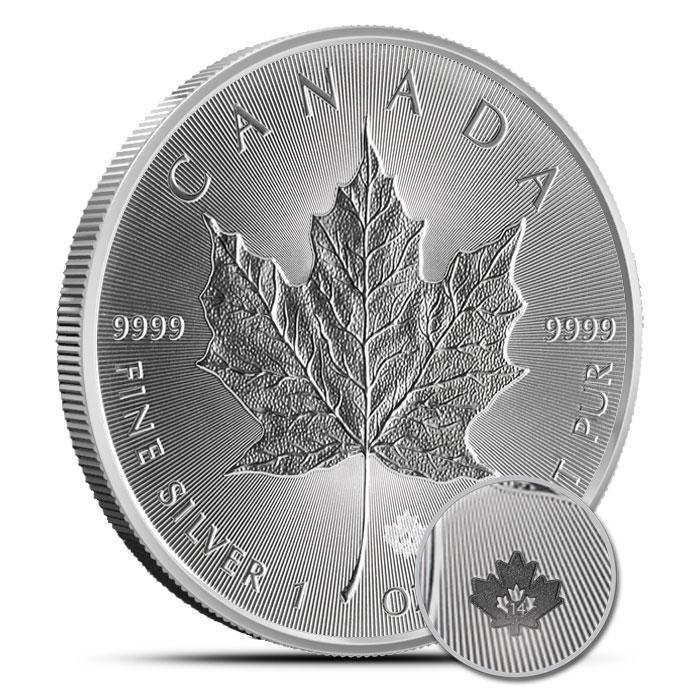 2014 Canadian Silver Maple Leaf