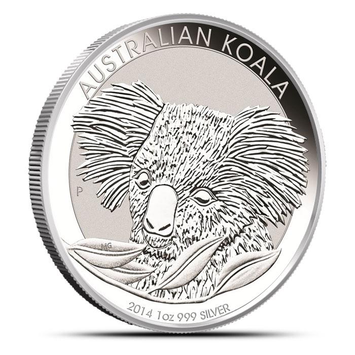 2014 1 oz Australian Silver Koala