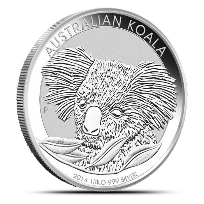 2014 Kilo Australian Silver Koala