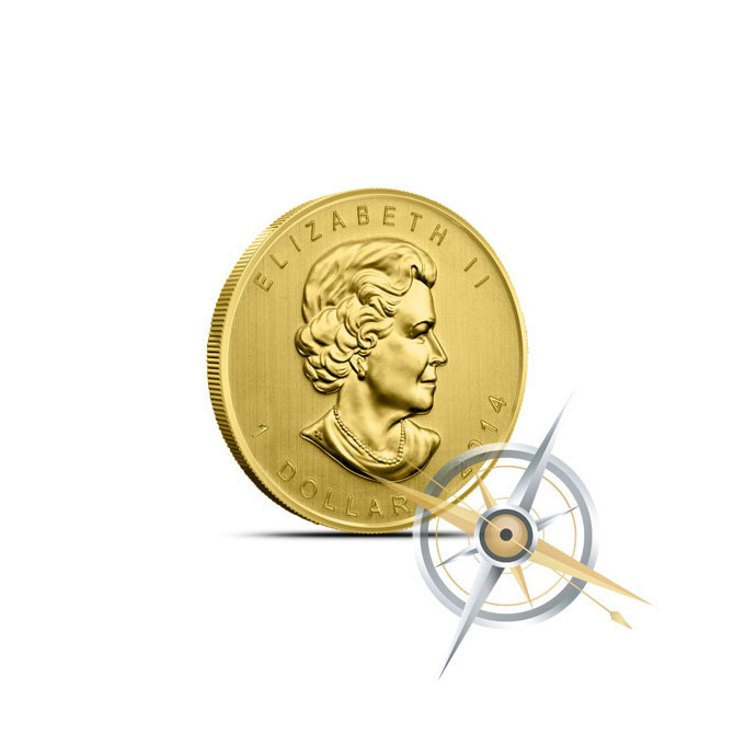 2014 Twentieth Ounce Gold Maple